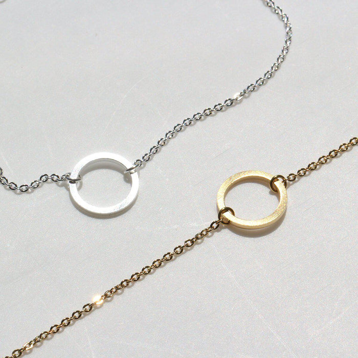 Infinite Circle Necklace