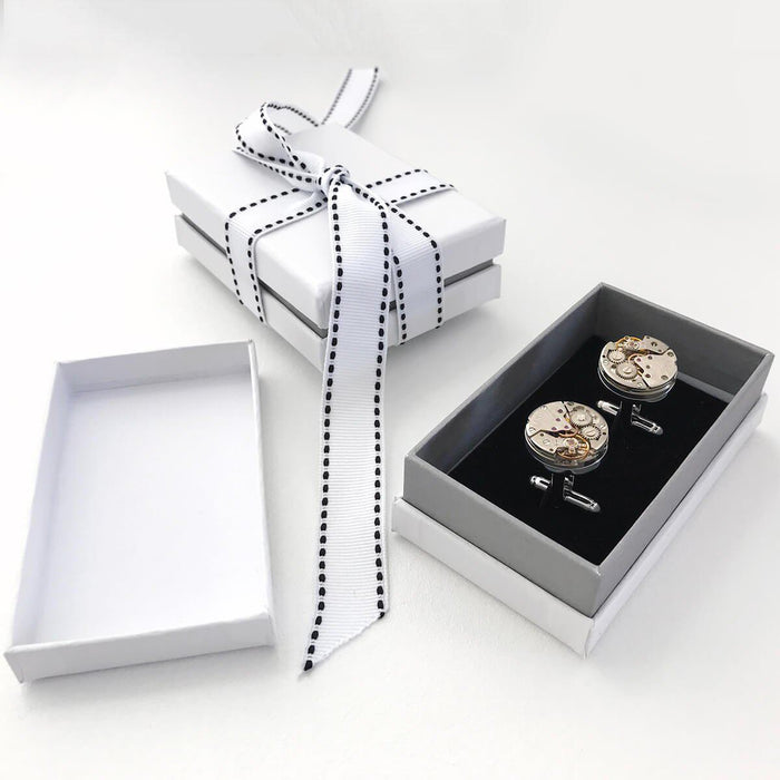 Timeless Watch Mechanism Cufflinks