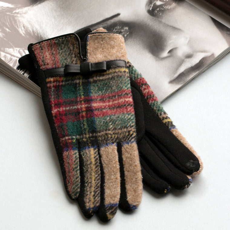 Merino Wool Colourful Gloves