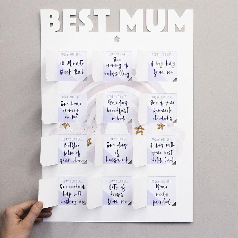 World's Best Mum Coupon Gift Poster