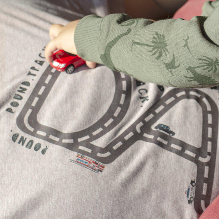 drive-on-daddy-personalised-track-t-shirt