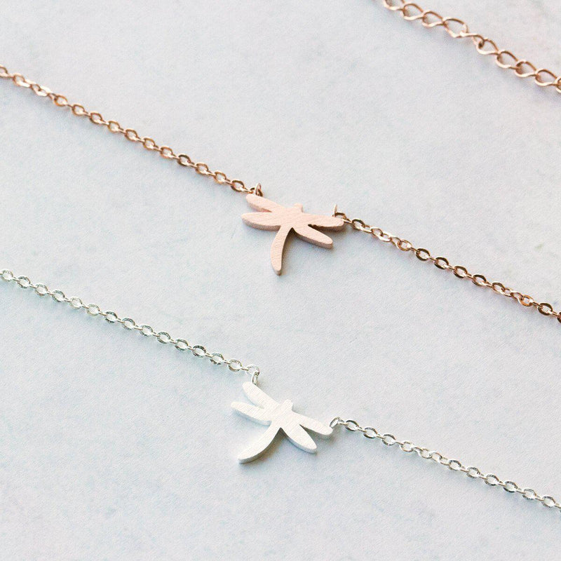 Delicate Dragonfly Necklace