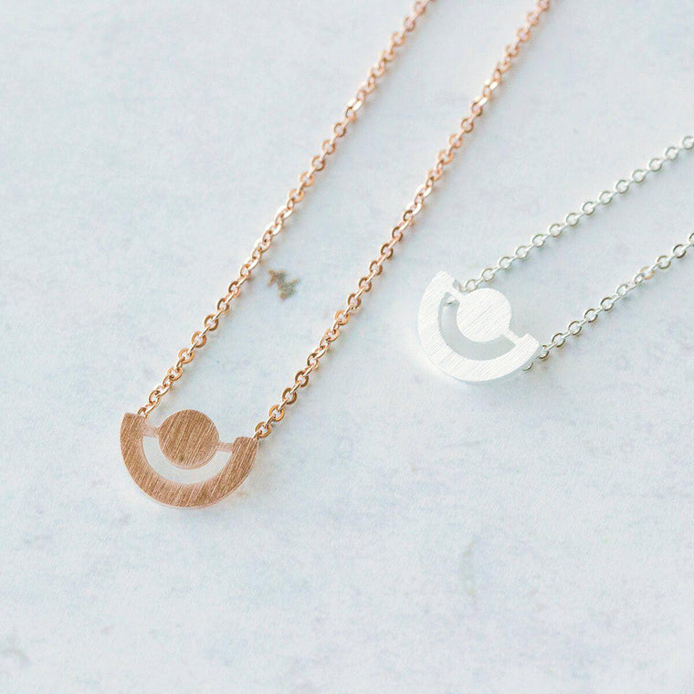 Minimalist Galaxy Necklace