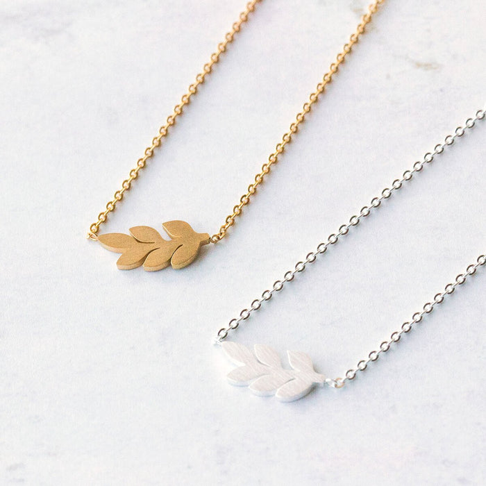 Little Leaf Necklace