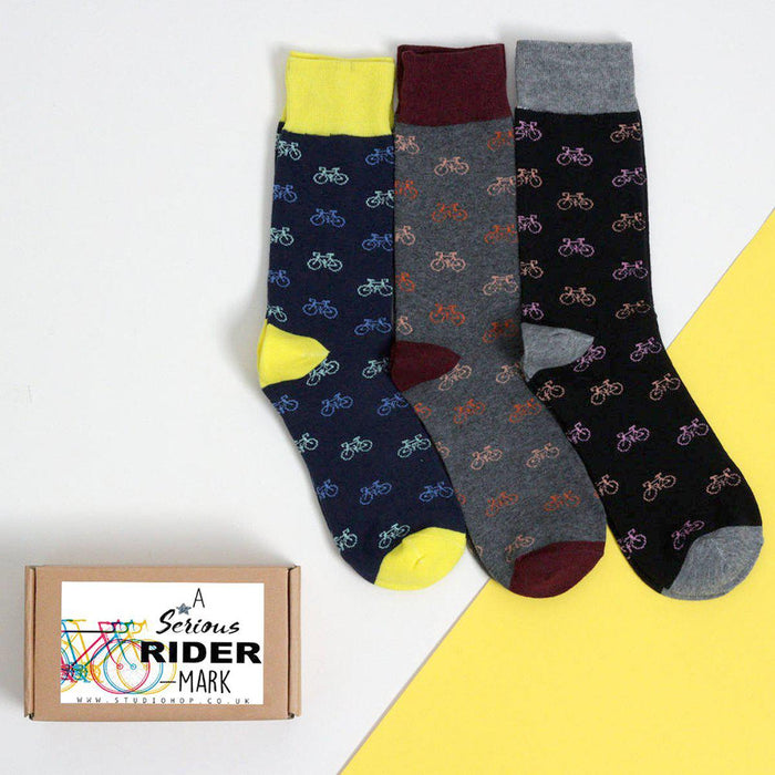 Cycle Enthusiast Socks-Socks-Studio Hop-Studio Hop