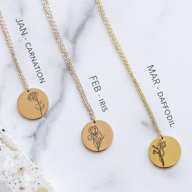 delicate-birth-flower-necklace