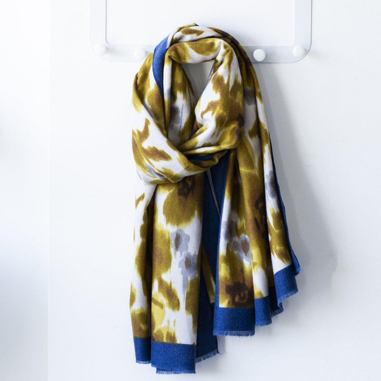 Personalised Tie Dye Buttercup Scarf