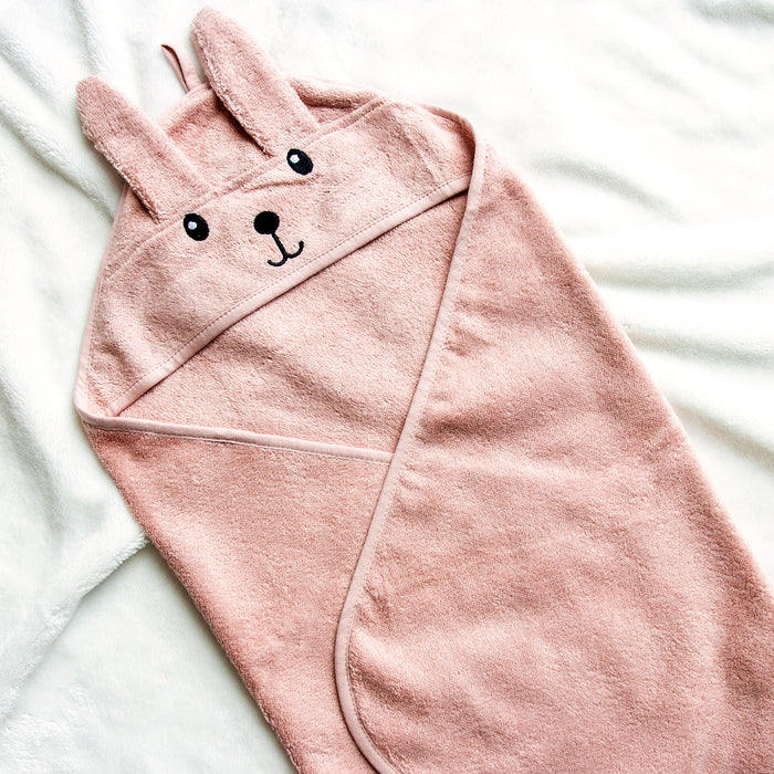 Baby Bunny Hooded Cotton Towel