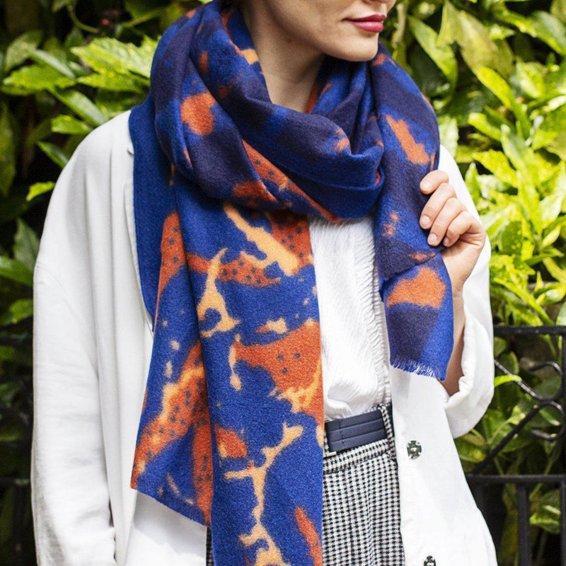 personalised-organic-abstract-gauze-scarf