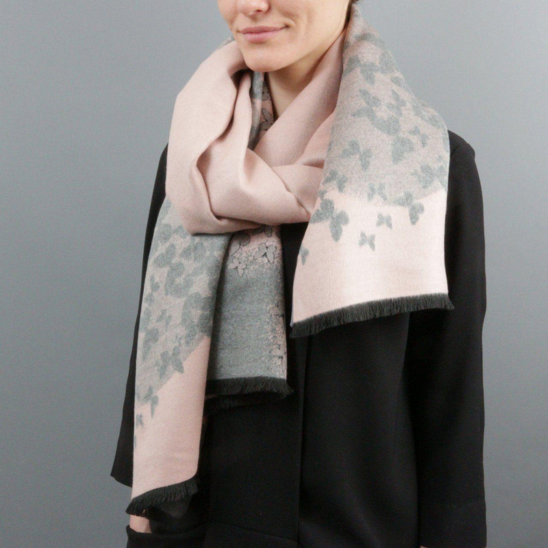 Cashmere & Butterfly Scarf