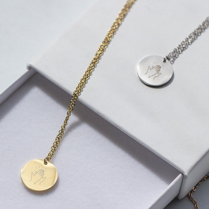 Thank You Our Key Worker Pendant Necklace