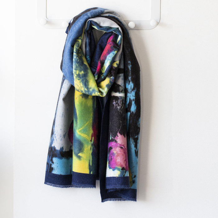 personalised-vibrant-watercolour-scarf