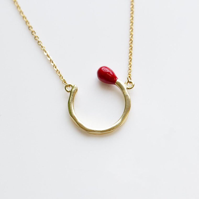 My Perfect Match Curling Necklace