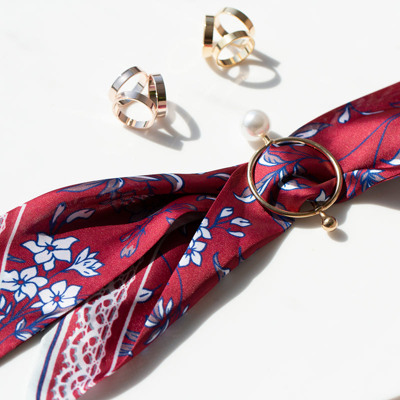 Floral Ladies Neck Tie