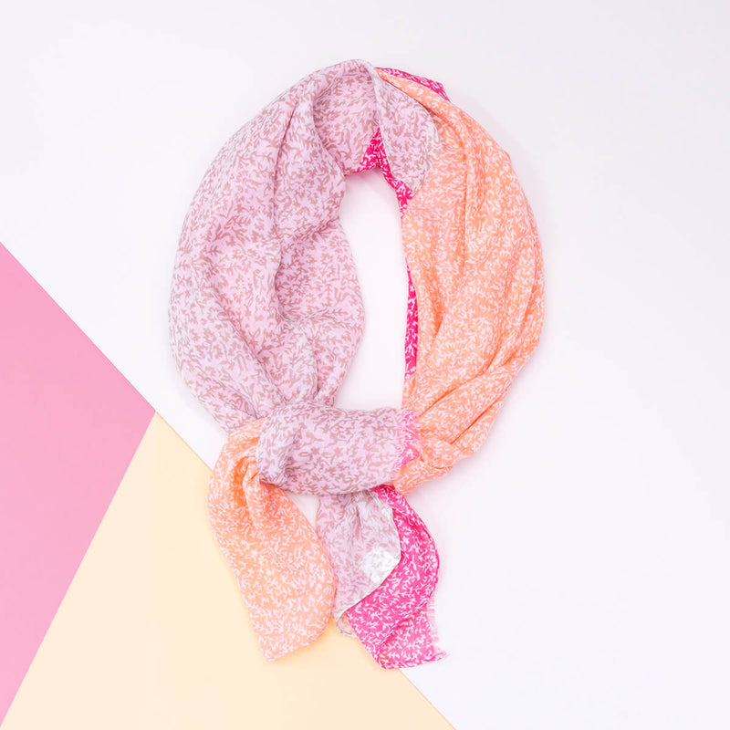Dainty Leaves Summer Scarf