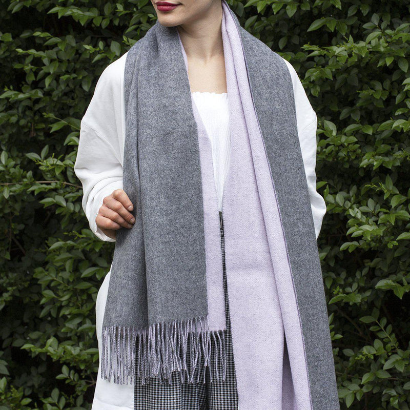 personalised-two-tone-wool-shawl