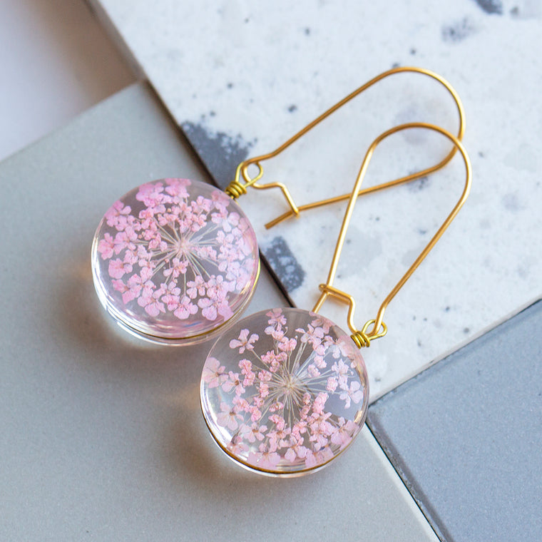 Eternal Flowers Encapsulated Earrings
