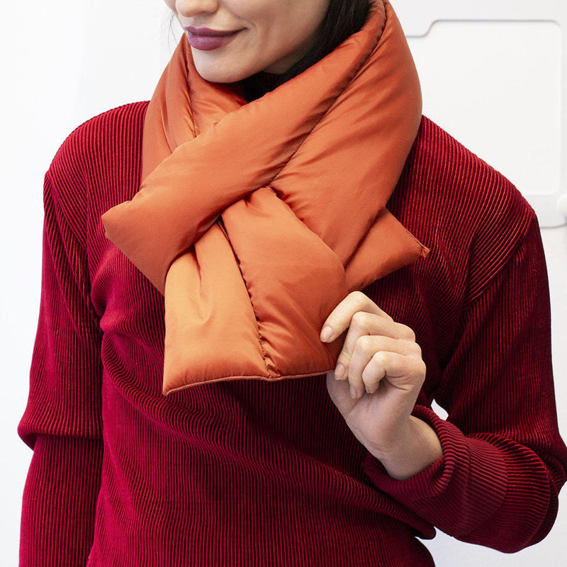Puff Neck Cosy Wrap