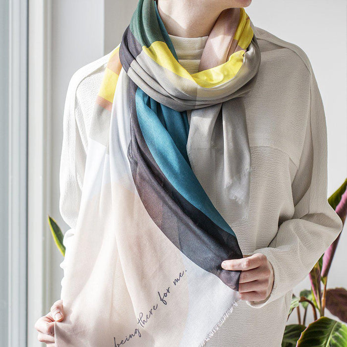 personalised-eco-geometric-print-scarf