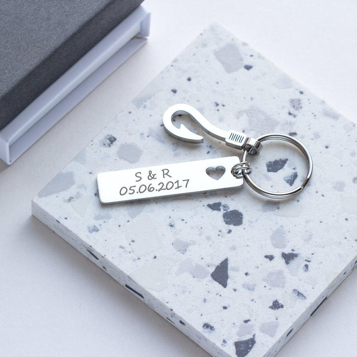 Greatest Catch of my Life Personalised Photo Keyring-Keyrings-Studio Hop-Studio Hop