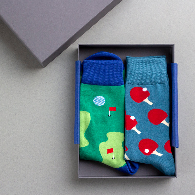 Personalised Men's Hobby Sock Selection