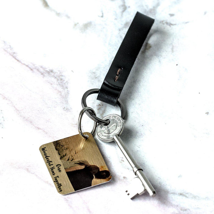 personalisedleather-key-ring-with-personalised-photo