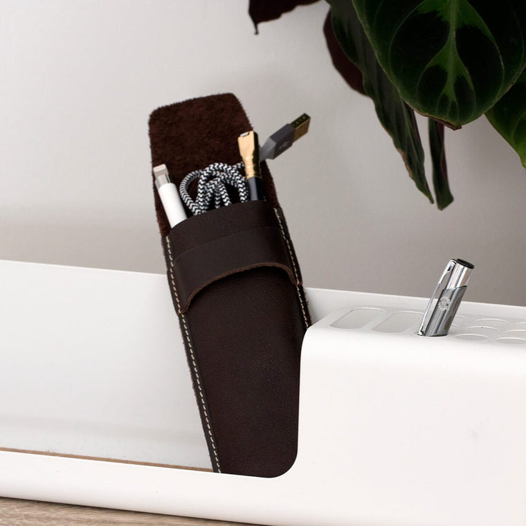 Men's Leather Pen Holder