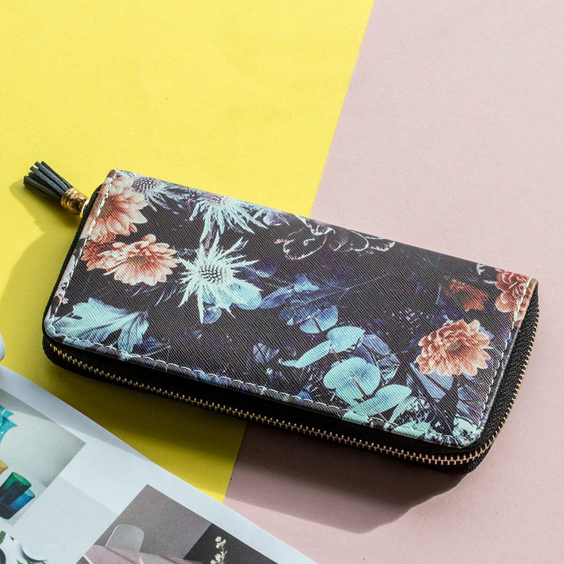 Flower & Thistle Mono Wallet
