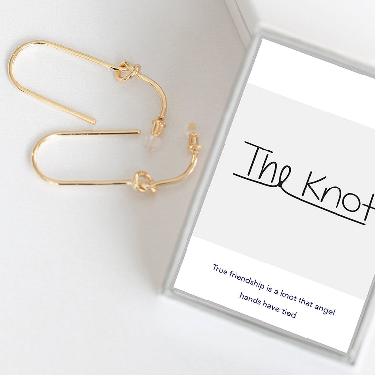 Knotted In Love Earrings