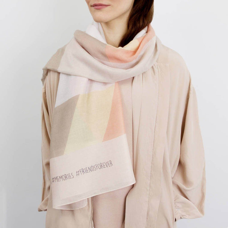 Scarf - Personalised #Hashtag Scarf