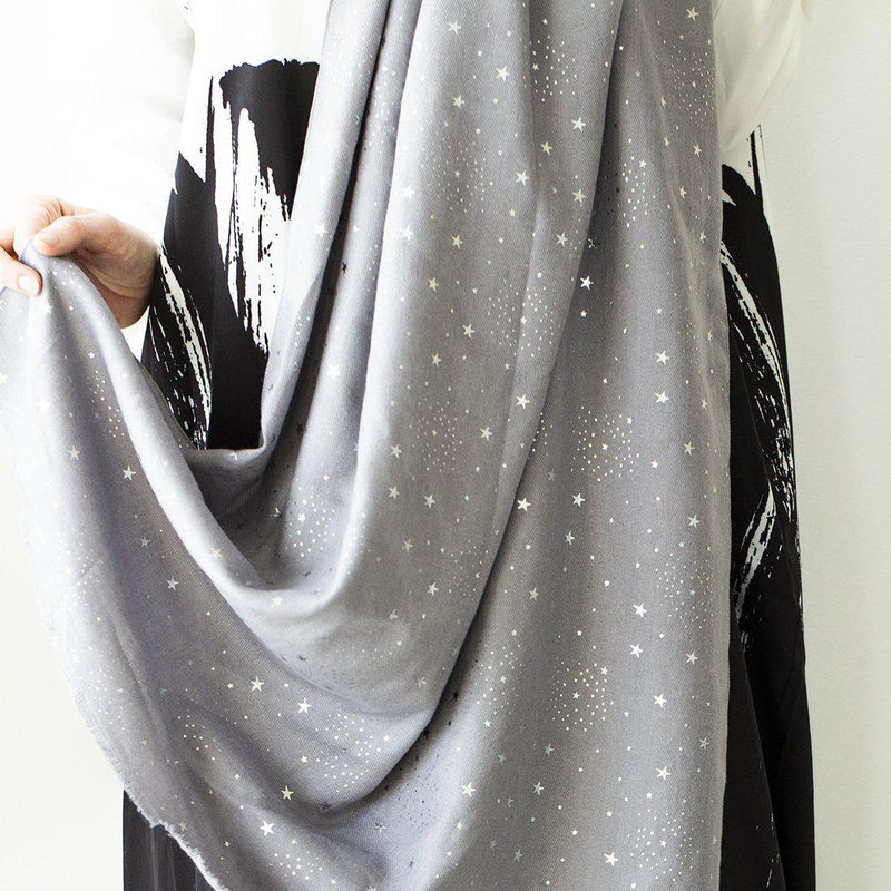 Personalised Sparkling Stars Scarf
