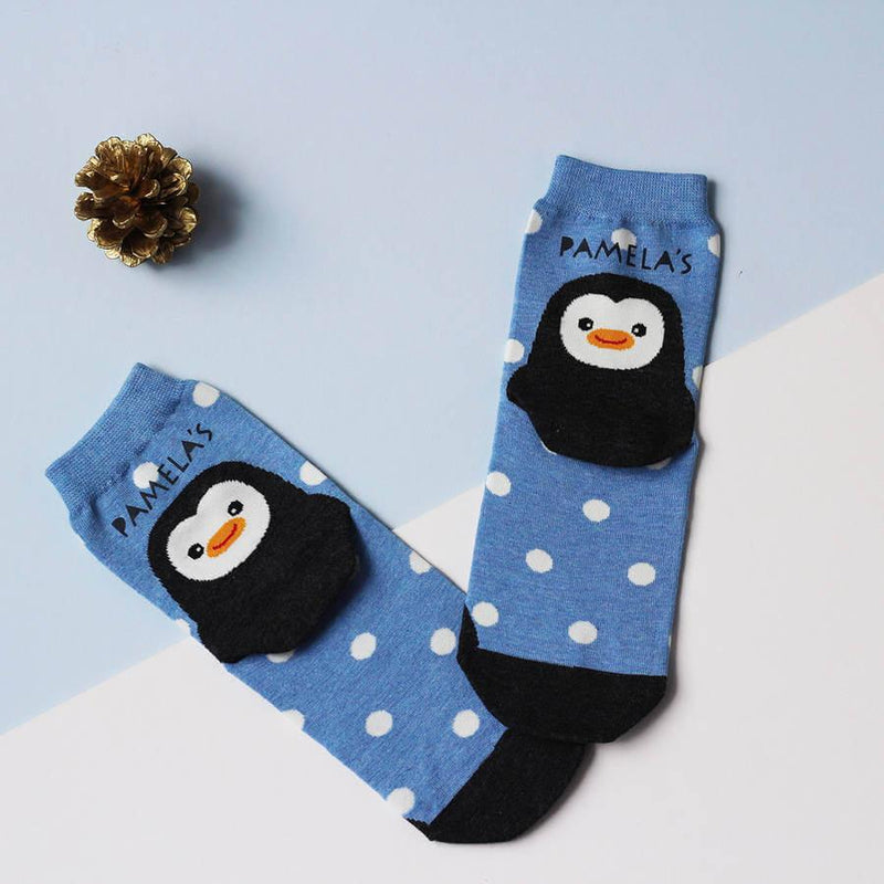 Socks - Personalised Penguin Socks