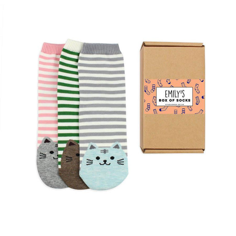 Personalised Socks Gift Box
