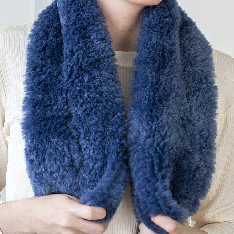 Cosy Teddy Neck Wrap