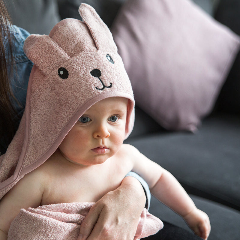 Baby Animals Hooded Cotton Towel