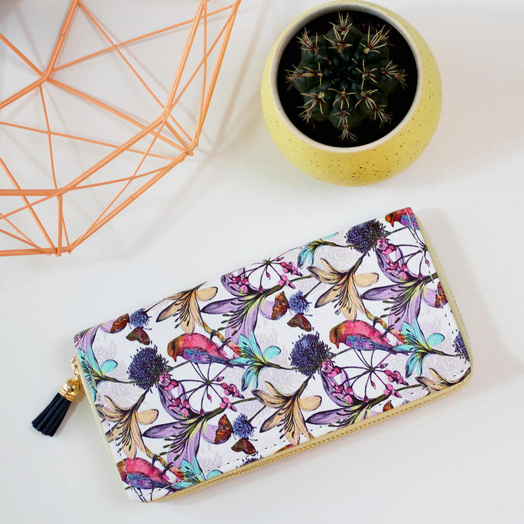 Little Waterlilies Ladies Wallet
