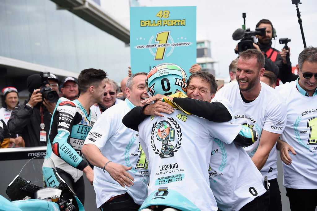 Le0pard Racing takes both Moto3 Team and Rider world championship titles with unbeatable leads