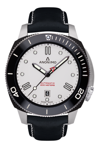 AUTO - STEEL & DLC CASE<br>OPALIN DIAL-Anonimo Watches