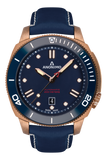 AUTO - BRONZE CASE<br>BLUE DIAL-Anonimo Watches
