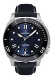 AUTO - STEEL CASE<br>NAVY BLUE DIAL-Anonimo Watches