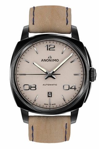 Steel / DLC Case & Sand Dial - Anonimo Watches