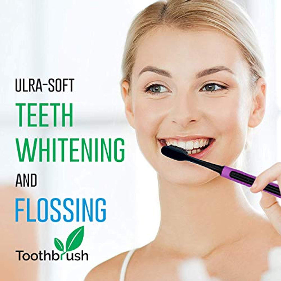 Slim Teeth Whitening Toothbrushes For Adults & Kids