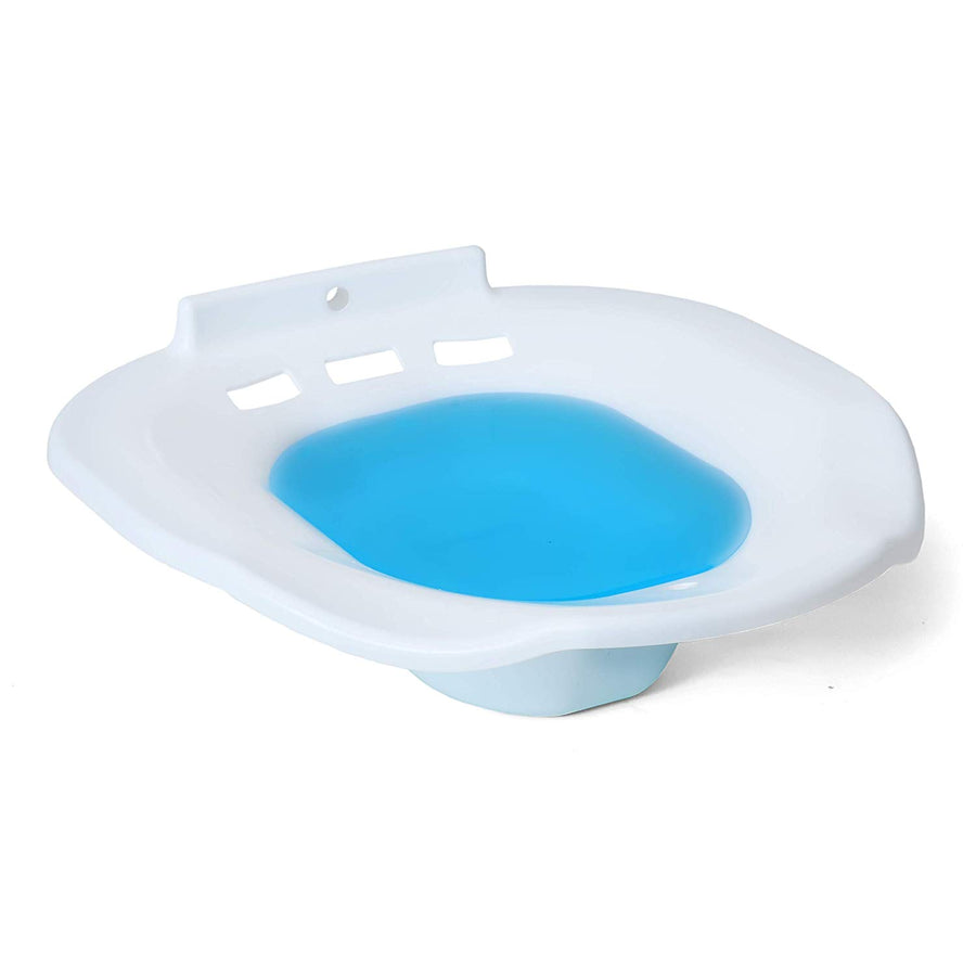 DAILY REMEDY Sitz Bath Toilet SEAT - Perineal Soaking Bath for Postpartum Care & Hemorrhoid Treatment - Steam, Soothes and Relieves Inflammation, Vagina or Anal irritations.