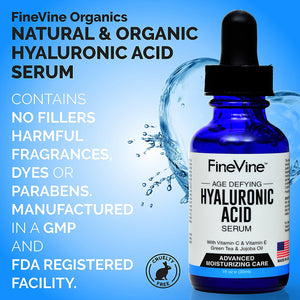 Hyaluronic Acid Serum for Skin