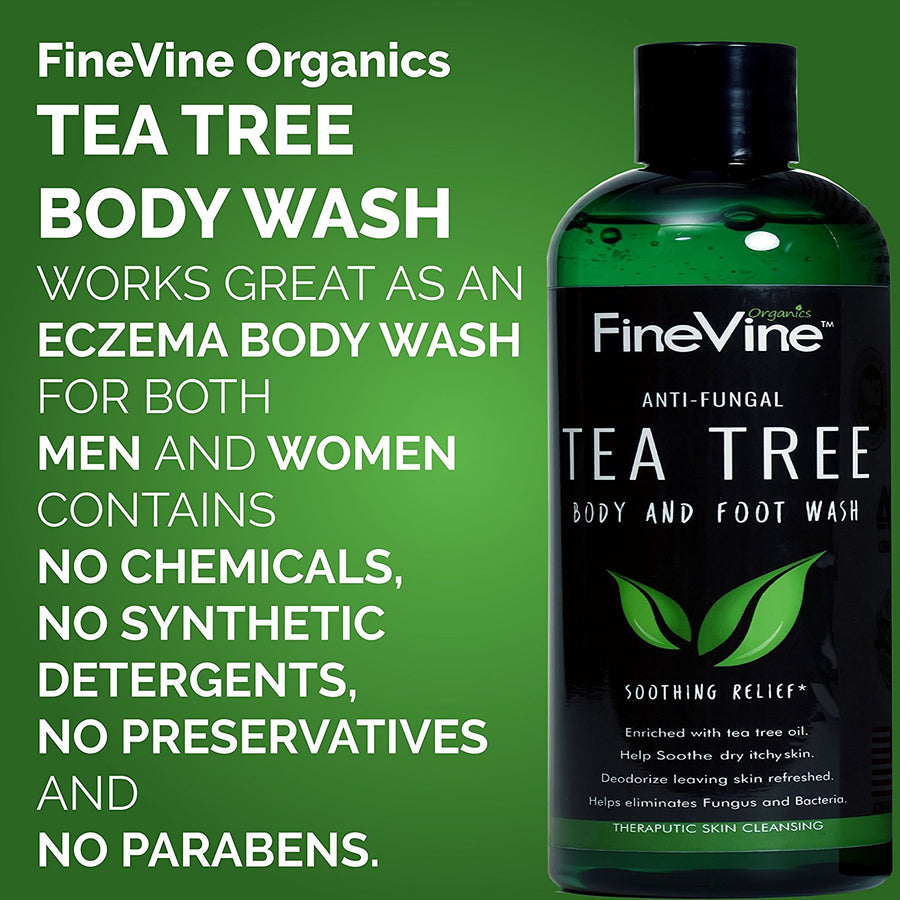 Antifungal Tea Tree Oil Body Wash