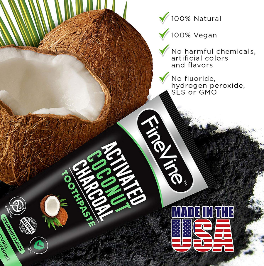 Charcoal Teeth Whitening Toothpaste