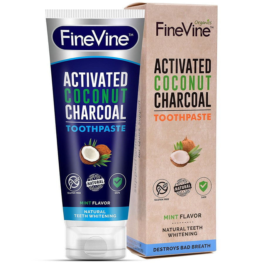 Natural Charcoal Teeth Whitening Toothpaste