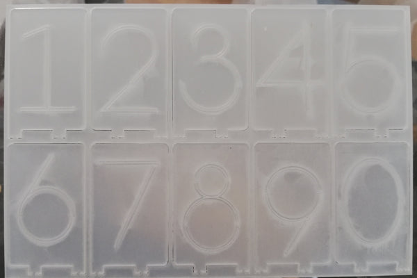 Parts Supply - 6 Digit Board 6 set for DIY acrylic clock