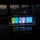 COLORIC -  Combining acrylic art and nixie clock