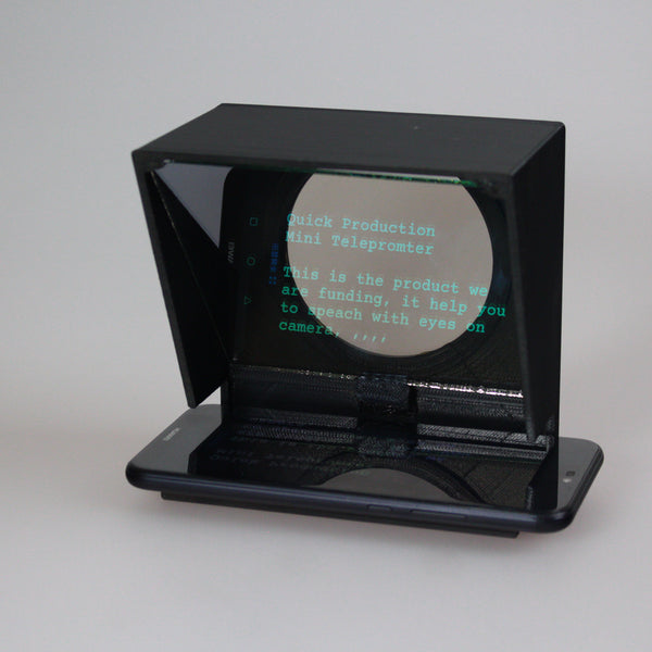 Mini Teleprompter - Funded With Kickstarter (Pre-order)